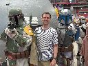 Matt with bounty hunters
