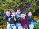 5 Boys fall colors 08