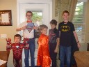 super hero day at school
